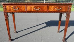 Chippendale Style Mahogany Serving Table
